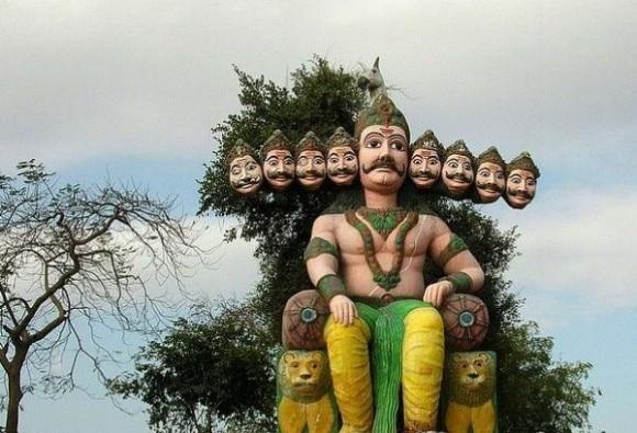 ભારતમાં એવા પાંચ સ્થળ જ્યાં રામ નહીં પણ રાવણની થાય છે પૂજા
