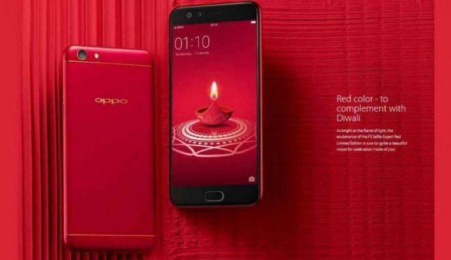 2-oppo starts diwali limited edition f3 smartphone sale