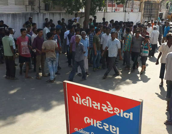 5-Dalit man lynched for watching garba, 8 arrested