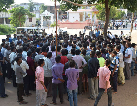 8-Dalit man lynched for watching garba, 8 arrested