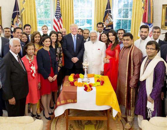 2-donald trump celebrates diwali in white house ivanka us president