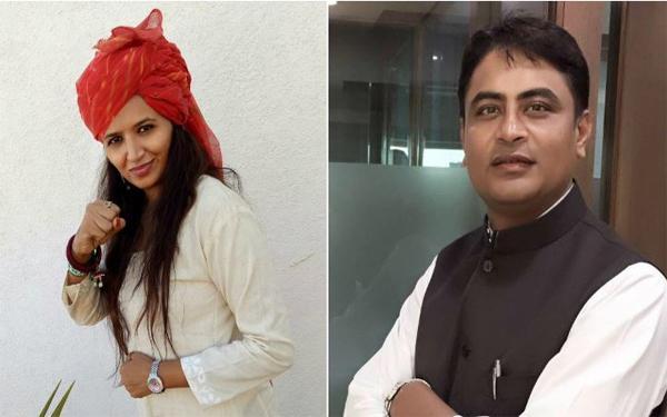 3-Gujarat Assembly Polls, Hardik Patel's key aides Varun Patel and Reshma Patel join BJP