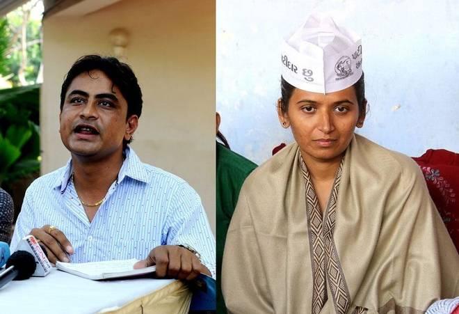 1-Gujarat-Assembly-Polls-Hardik-Patels-key-aides-Varun-Patel-and-Reshma-Patel-join-BJP
