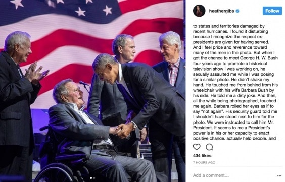 1-george hw bush apologises after actor accuses him of sexual assault from his wheelchair