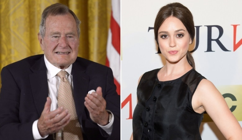 4-george hw bush apologises after actor accuses him of sexual assault from his wheelchair