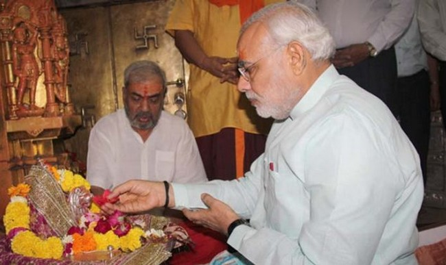 1-Why does PM Narendra Modi wears black thread on wrist