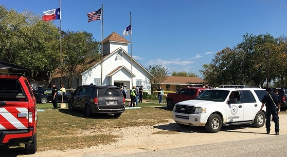 1-26 dead in Texas church shooting, with children among the victims