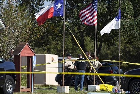 2-26 dead in Texas church shooting, with children among the victims