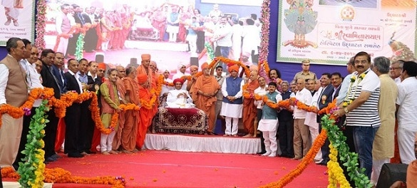 1-swaminarayan temple in vadtal openly backs bjp appeals to devotees to vote for narendra