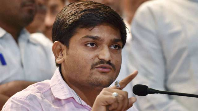 12-Hardik Patel, aide arrested in Gujarat on charges of assault, dacoity