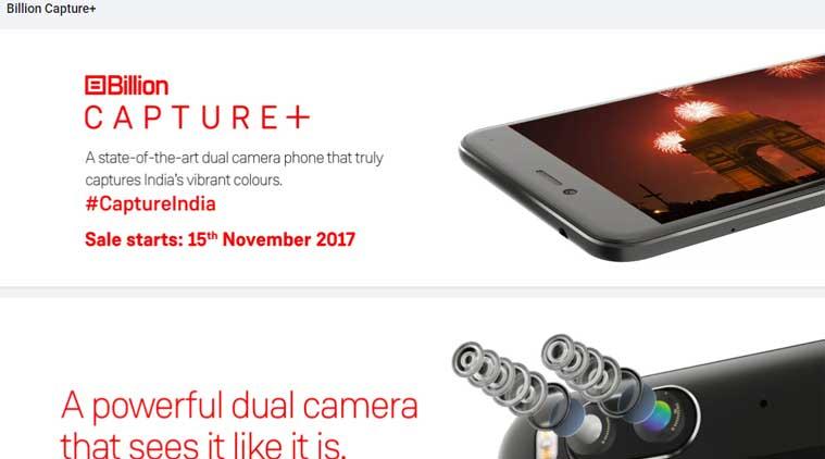 3-flipkart to launch its first phone billion capture plus on 15 november
