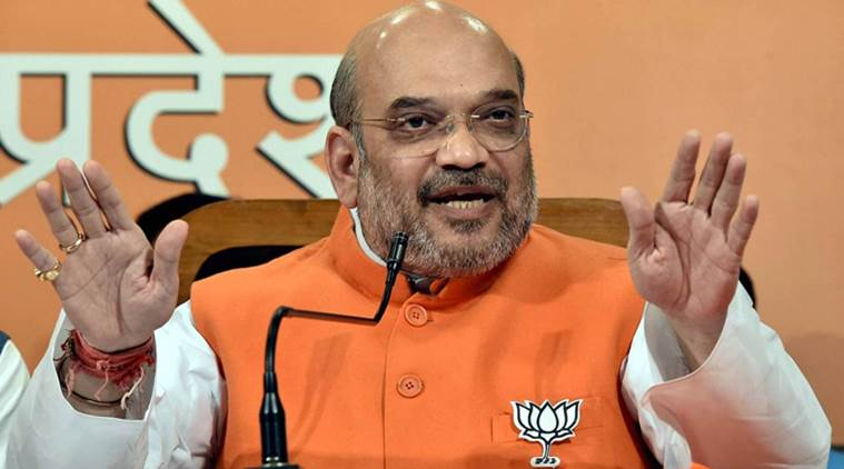 BJP President Amit Shah PC in  Lucknow