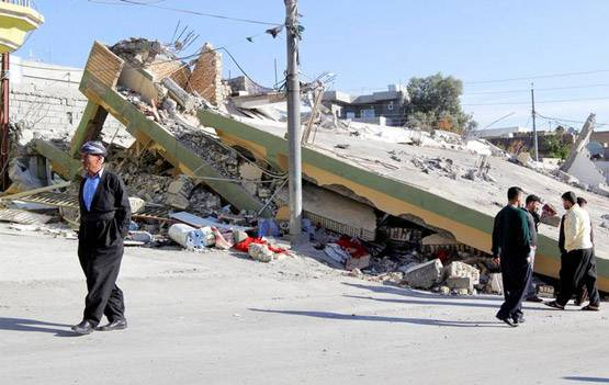 1-pictures of deadliest earthquake of 2017 iran and iraq face huge damage