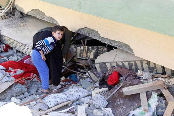 2-pictures of deadliest earthquake of 2017 iran and iraq face huge damage