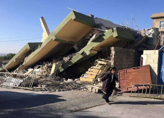 6-pictures of deadliest earthquake of 2017 iran and iraq face huge damage