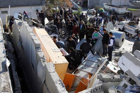 11-pictures of deadliest earthquake of 2017 iran and iraq face huge damage.