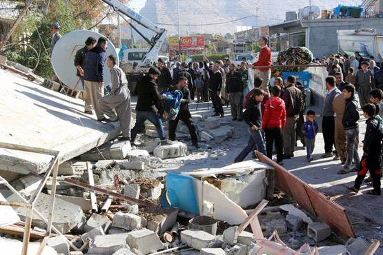 13-pictures of deadliest earthquake of 2017 iran and iraq face huge damage