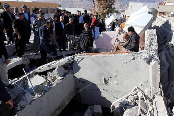 15-pictures of deadliest earthquake of 2017 iran and iraq face huge damage