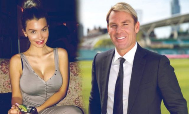 1-warne has reportedly been dating 32 year old emily sears two were first spotted in a restaurant in los angeles