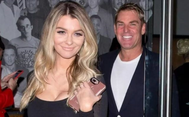 2-warne has reportedly been dating 32 year old emily sears two were first spotted in a restaurant in los angeles
