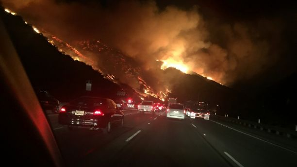 10-California Fires Enter the Heart of Los Angeles