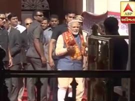 PM મોદીએ કર્યા મા અંબાજીના દર્શન, મોદીની એક ઝલક માટે ઉમટ્યા લોકો