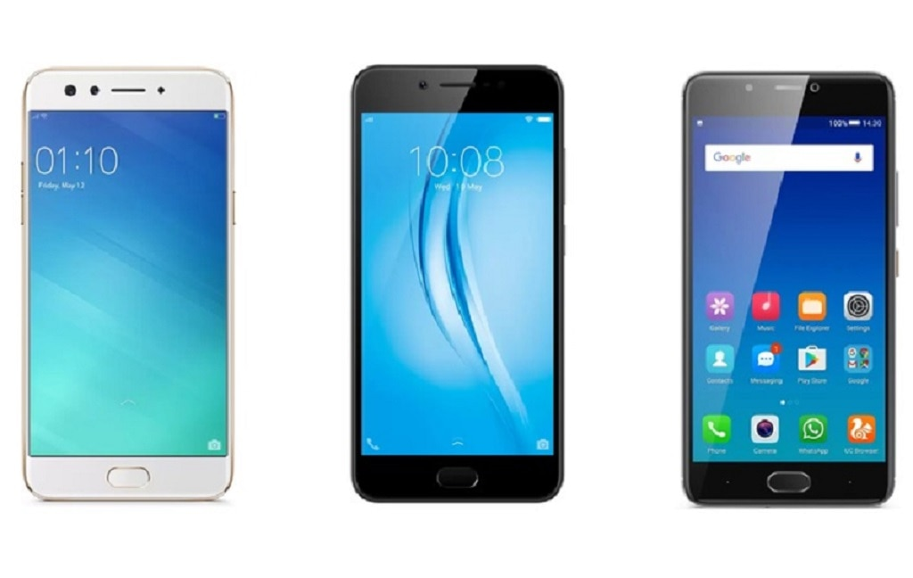 2-xiaomi redmi mi a1 vivo v5s oppo f3 plus flipkart offer
