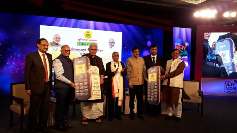 3-detel partners bsnl to launch d1 feature phone with low priced voice data offers 499 news
