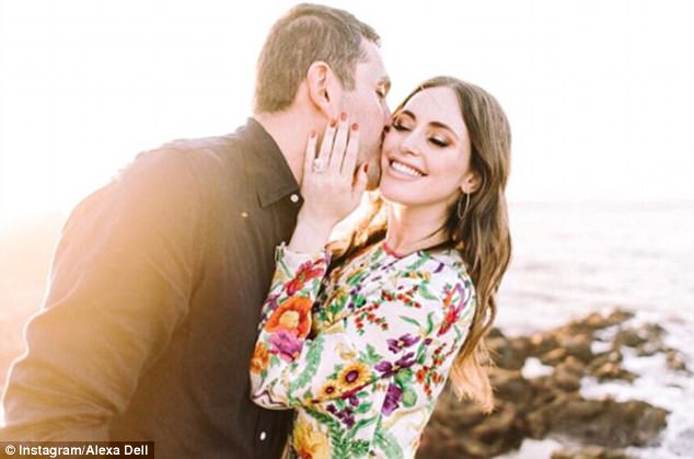2-oddnews alexa dell got 3 million dollars engagement ring from fiance harrison refoua