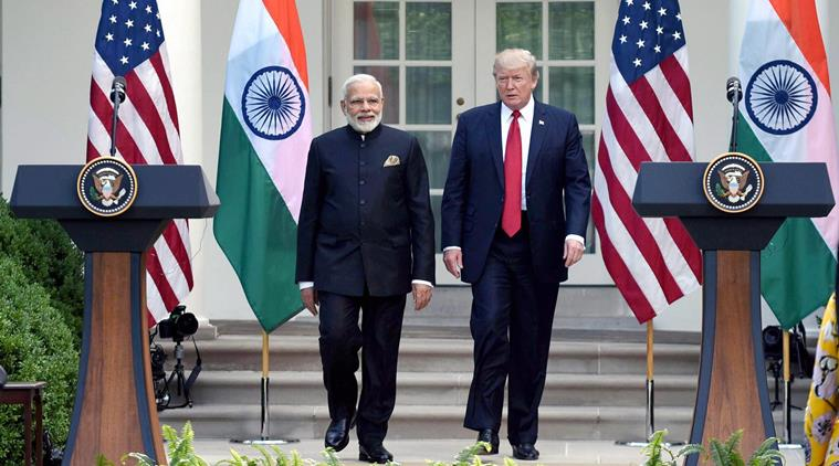 Narendra Modi meeting US President
