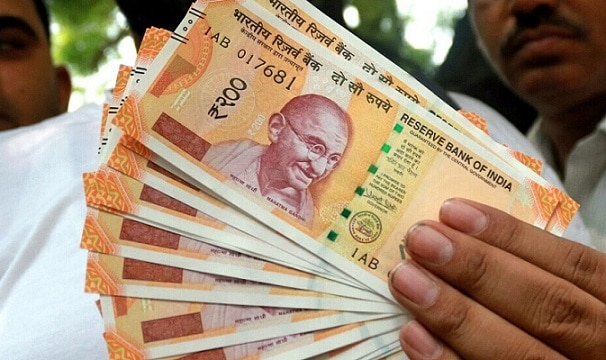 New Currency Notes of Rs 200 denomination. (File Photo: IANS)