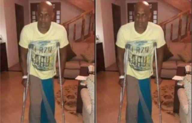 2-cricket sanath jayasuriya unable to walk without crutches