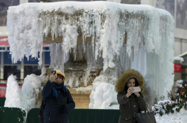12-Brutal cold spell grips US east coast after 'bomb cyclone' hits