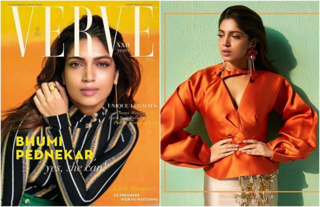 1-bhumi pednekar looks stunning in her latest photoshoot for famous magazine