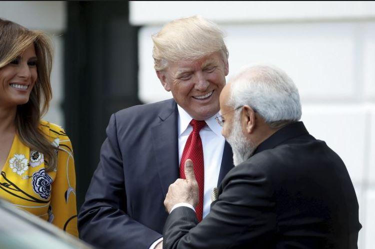 Modi Trump2