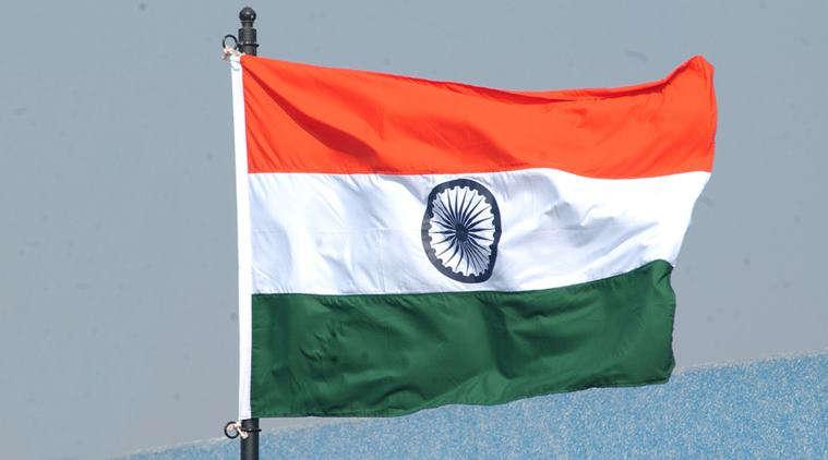 india flag 04