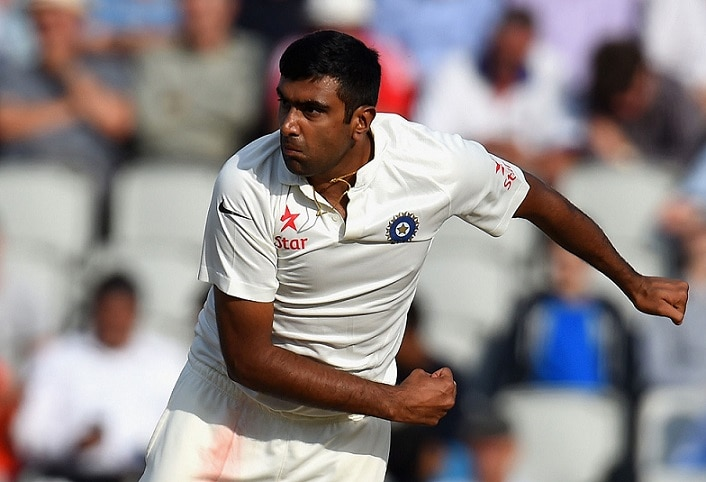 1-video r ashwin practicing to be a pace bowler before second test