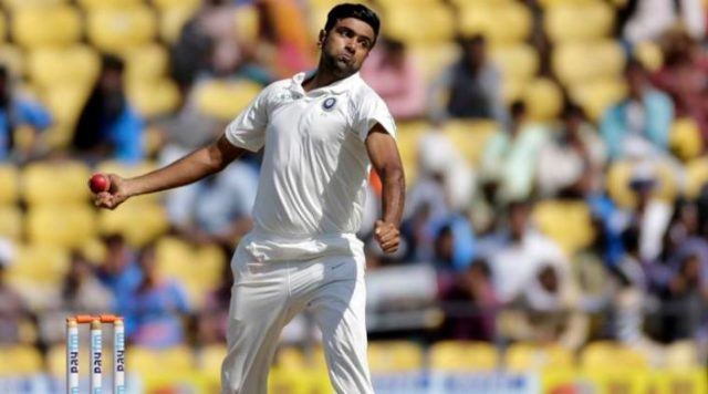 2-video r ashwin practicing to be a pace bowler before second test