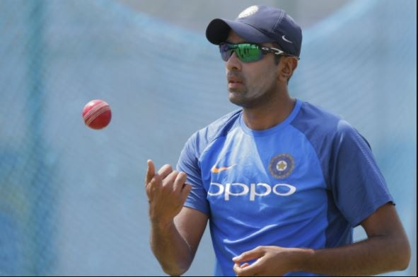 3-video r ashwin practicing to be a pace bowler before second test