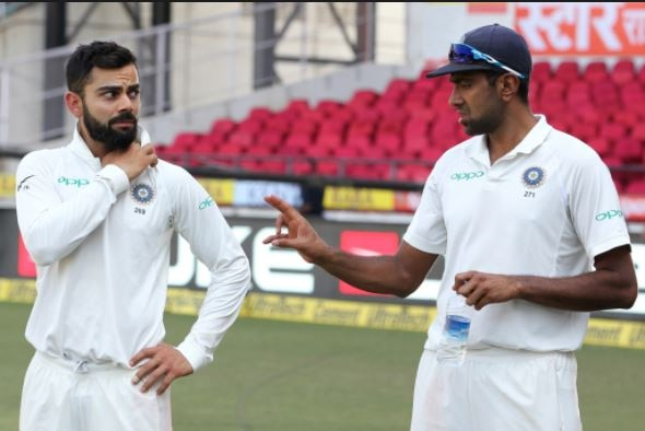 4-video r ashwin practicing to be a pace bowler before second test