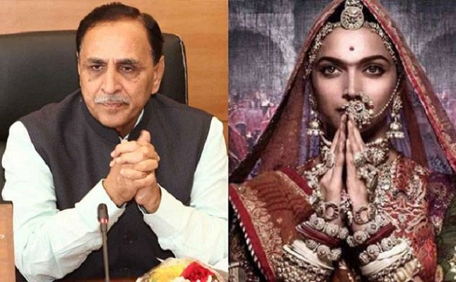 1-'Padmavati' will not release in gujarat says CM Vijay Rupani