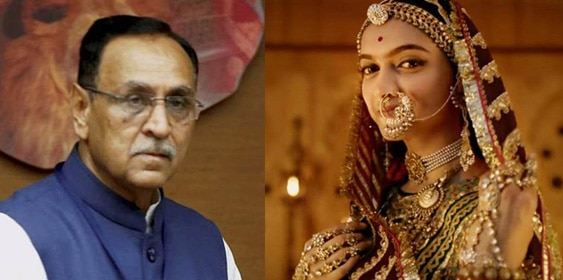 3-'Padmavati' will not release in gujarat says CM Vijay Rupani