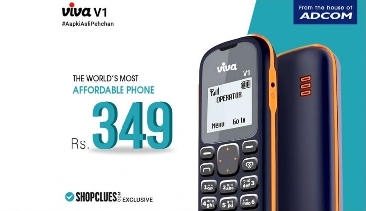 3-Viva V1 feature phone with 1.44-inch display launched in India at just Rs 349