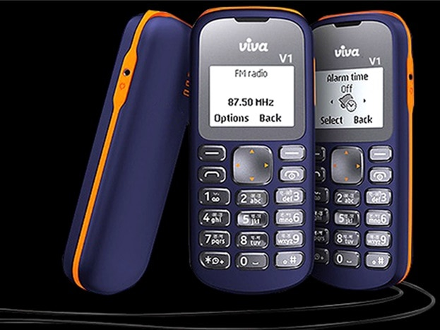 4-Viva V1 feature phone with 1.44-inch display launched in India at just Rs 349