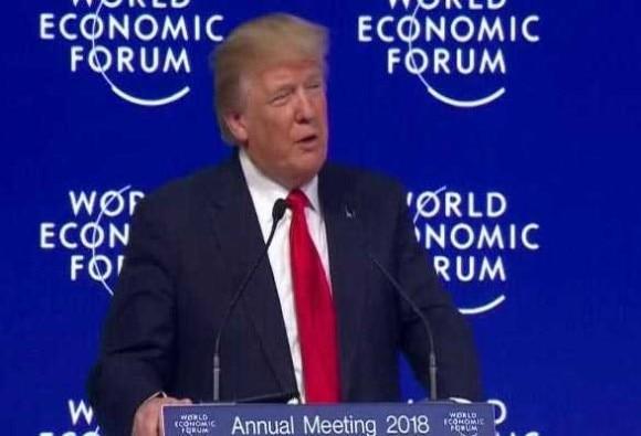 WEFમાં ડોનાલ્ડ ટ્રંપે કહ્યું- અમેરિકા ફર્સ્ટનો મતબલ, માત્ર અમેરિકા નથી, હું મુક્ત વ્યાપારને સમર્થન કરું છું