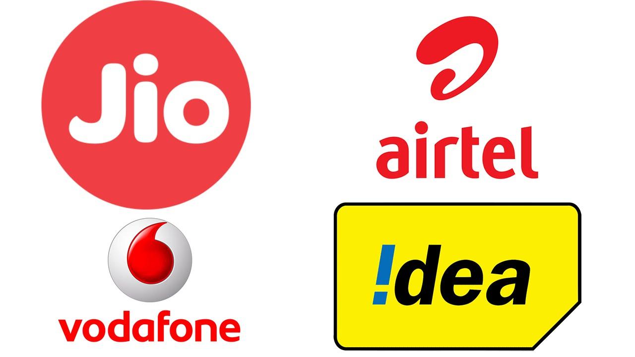 5-Vodafone, Airtel, Idea, Reliance Jio