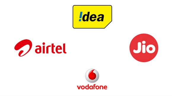 6-Vodafone, Airtel, Idea, Reliance Jio