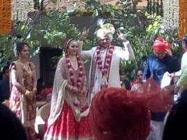 ઉદેયપુરમાં નરેશ પટેલના પુત્રના 'શાહી' મેરેજ: નરેશ પટેલ પત્ની સાથે ઝૂમી ઉઠ્યા, જુઓ તસવીરો