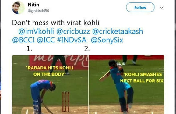Ind Vs SA Reactions 06