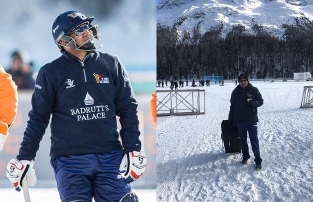 4-virender sehwag blast in ice cricket against shahid afridi royals in lake st moritz